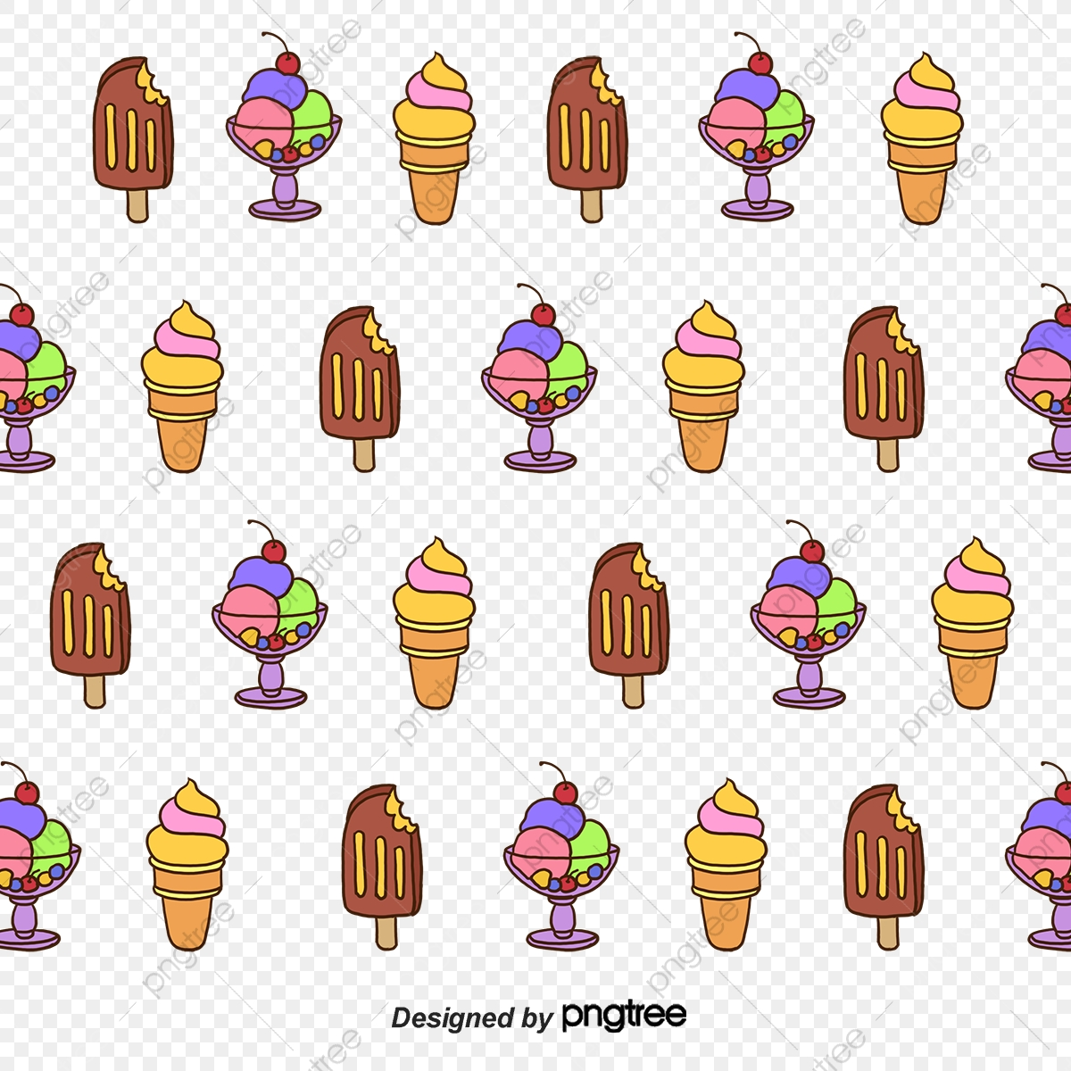 Ice Cream Wallpaper Vector Ice Vector Pink Ice Cream Png