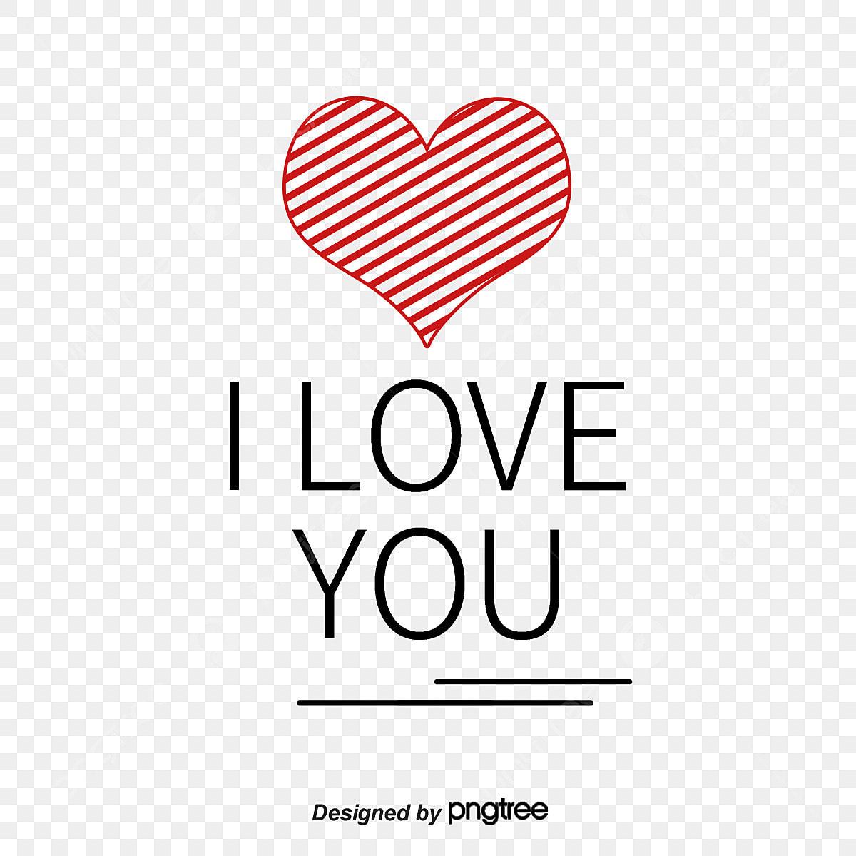 أى لاف يو الكلمات الإنجليزية قلوب قلب على شكل قلب Png وملف Psd للتحميل مجانا