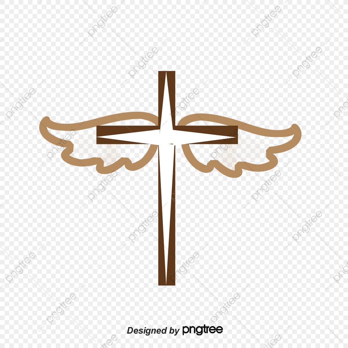 Free Drawings Of Crosses With Wings, Download Free Clip Art, Free Clip Art  on Clipart Library