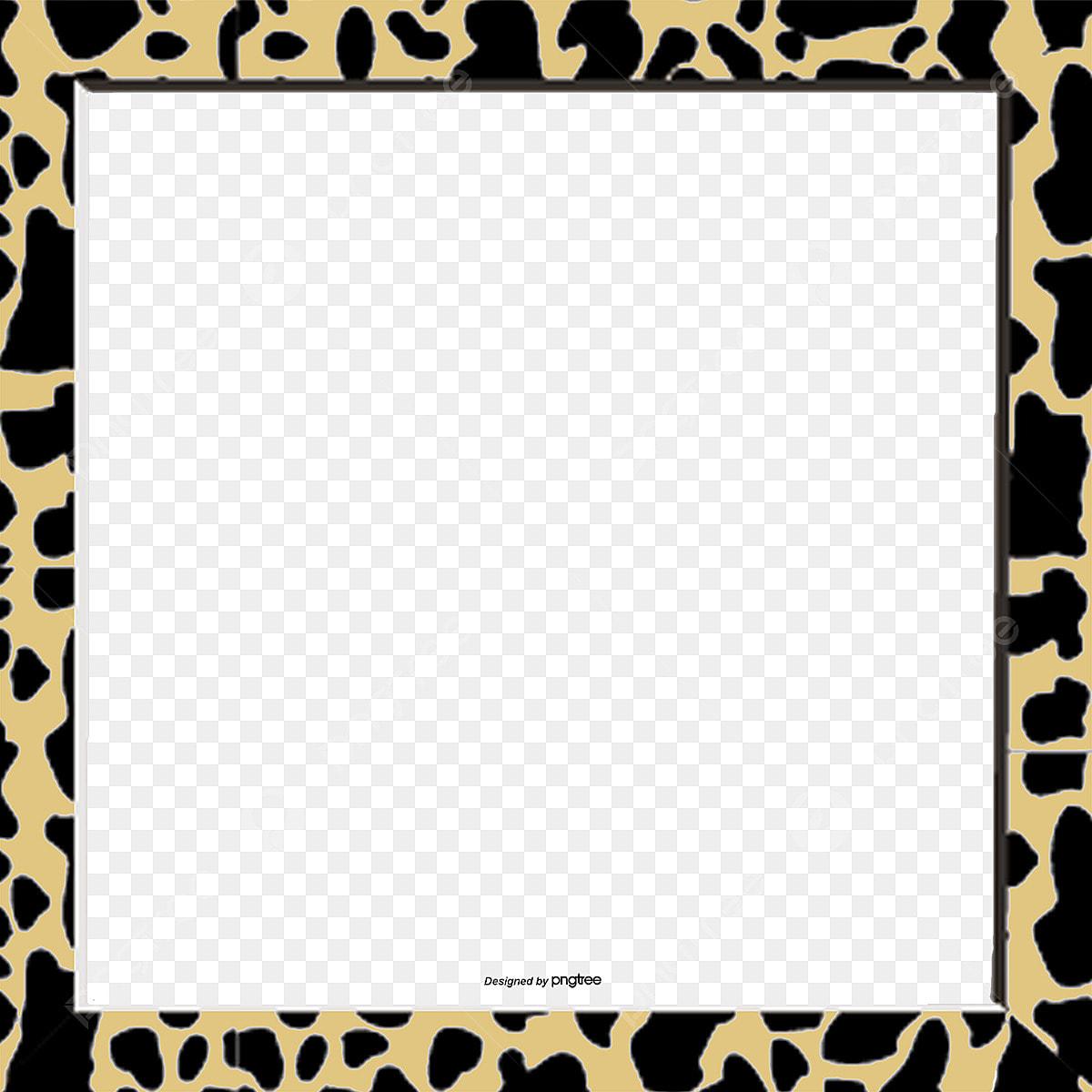 豹柄フレーム 額ぶち アイデア 豹柄画像とpsd素材ファイルの無料ダウンロード Pngtree