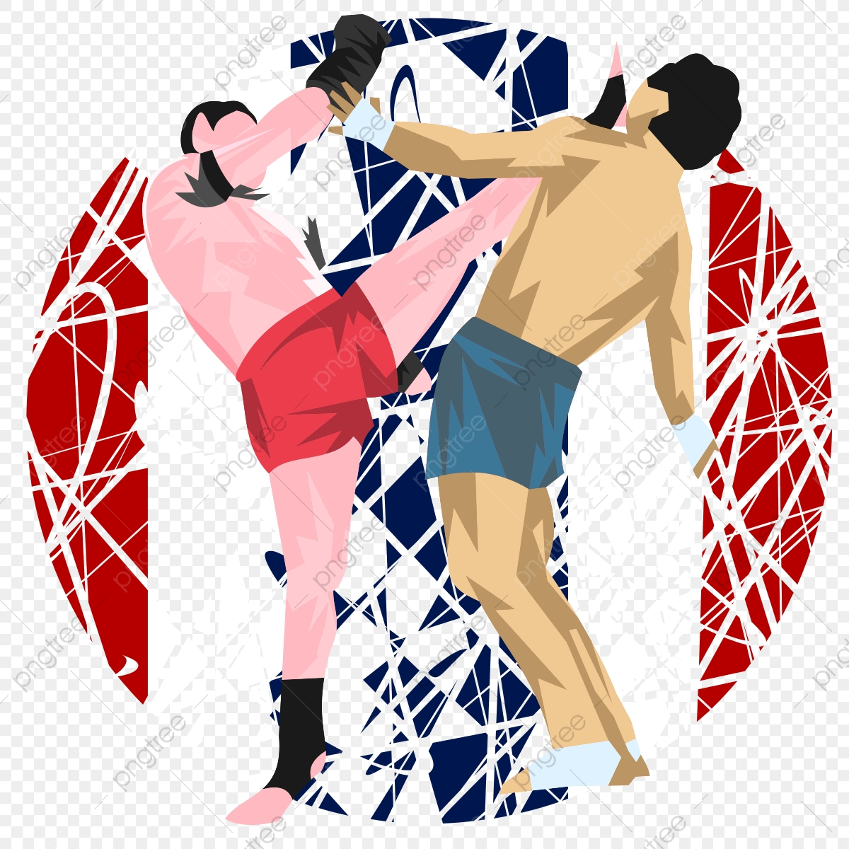 Muay Thai Png Vector Psd And Clipart With Transparent