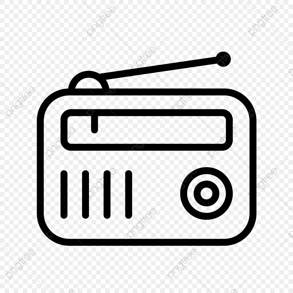 Old Radio, Radio Clipart, Ancient, Radio PNG Transparent Image and