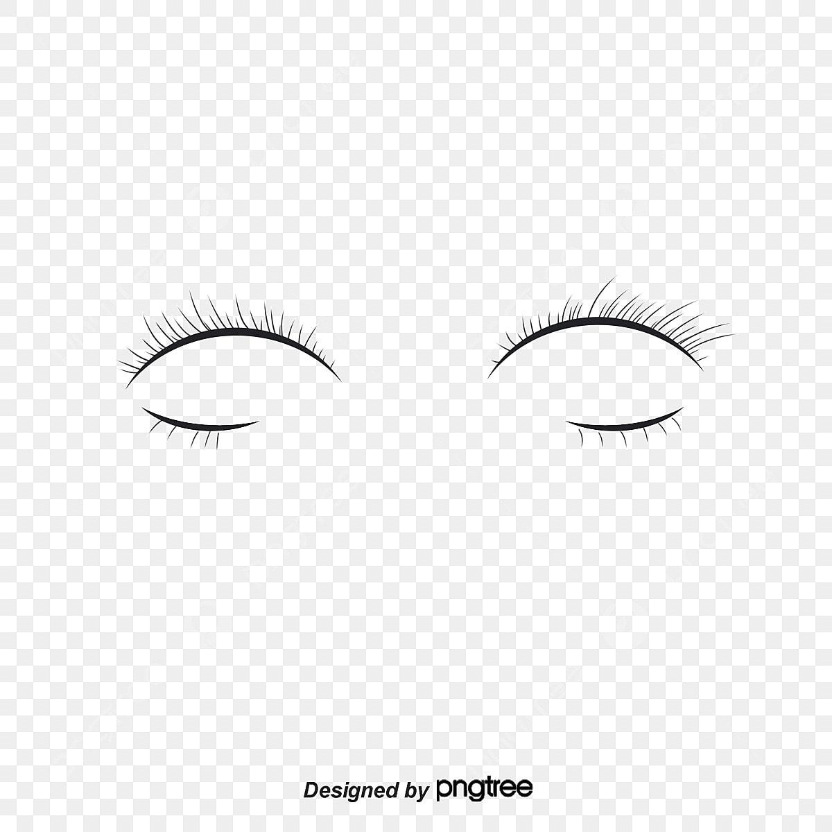 無料ダウンロードのためのひとつのまつげ つけまつげ アイメイク 眼飾png