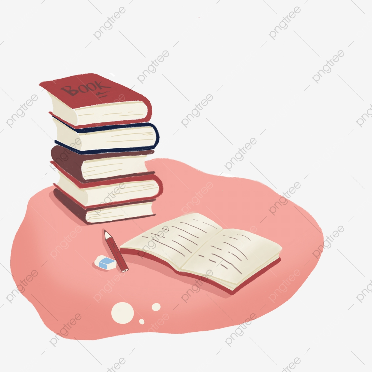 كتاب مفتوح كتاب كرتون كتاب Png وملف Psd للتحميل مجانا
