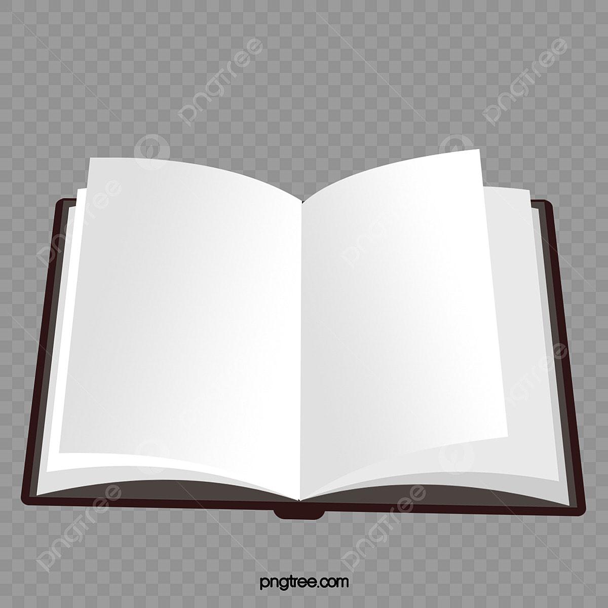 Livre Ouvert Le Livre Blanc Livres Blanc Fichier Png Et