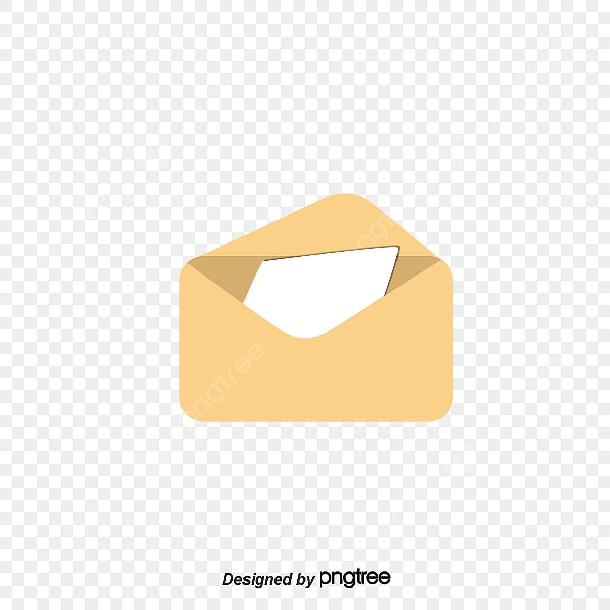 Buka Amplop Amplop Kuning Surat Png Dan Vektor Untuk Muat