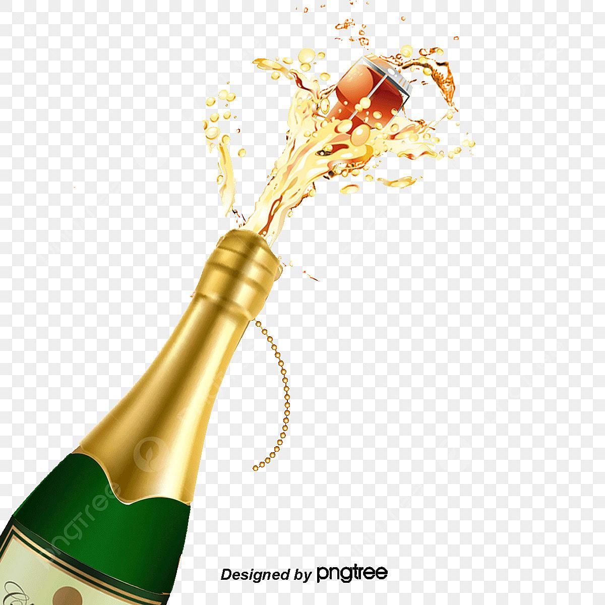 ouvrir une bouteille de champagne bouchon bois bouteille