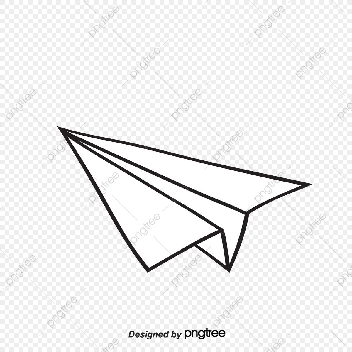 Paper Airplane Floating Material Free To Pull Airplane Clipart Paper Plane Float Png Transparent Clipart Image And Psd File For Free Download