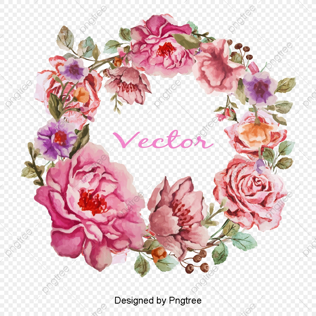 Bordes De Flor Rosa Creative Frame Flores Archivo Png Y