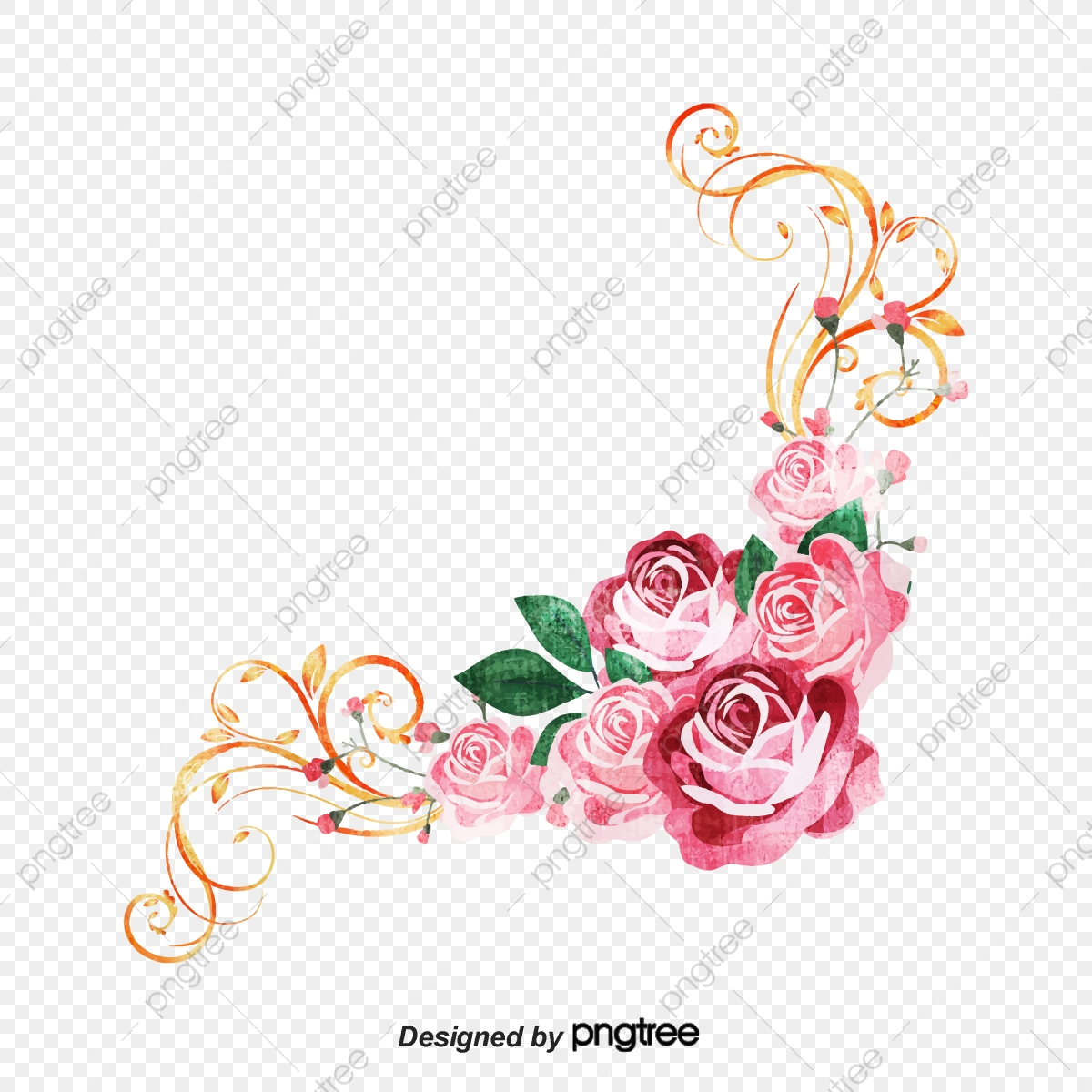 des fleurs roses de d u00e9coration de coin rose les fleurs