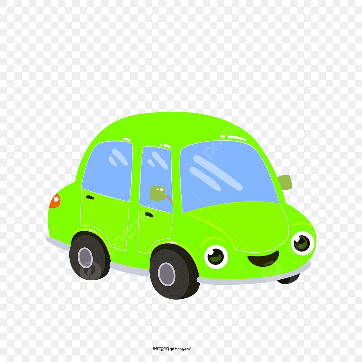 Png Vector Cartoon Car Material, Cartoon, Cartoon Vector, Creative