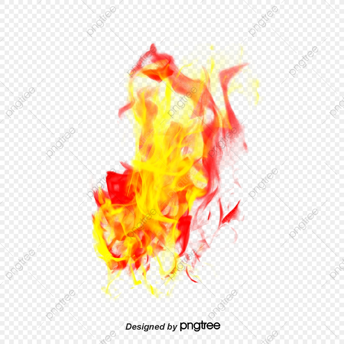 Red Flame Material, Flame Clipart, Flame, Flame Effect PNG
