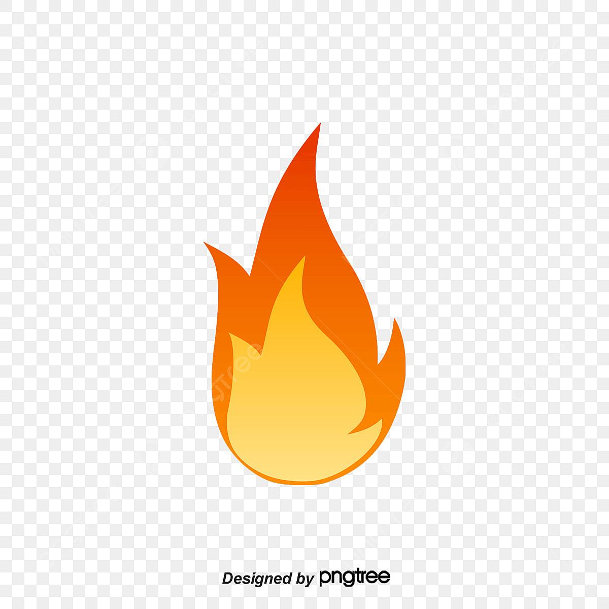 Feu Rouge Rouge Dessin Anime Flamme Fichier Png Et Psd Pour Le