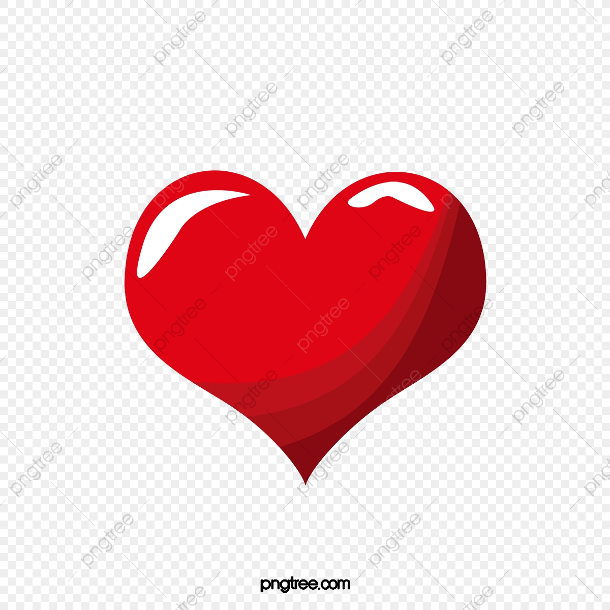Red Heart Cartoon Heart Outline, Heart Clipart, Cartoon