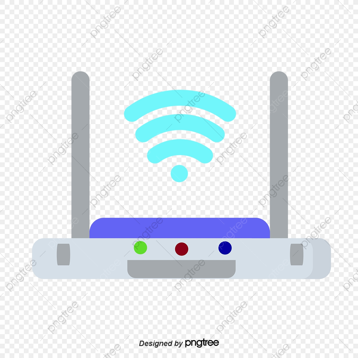 Router Wifi Cartoon Png And Vector With Transparent Background For Free Download