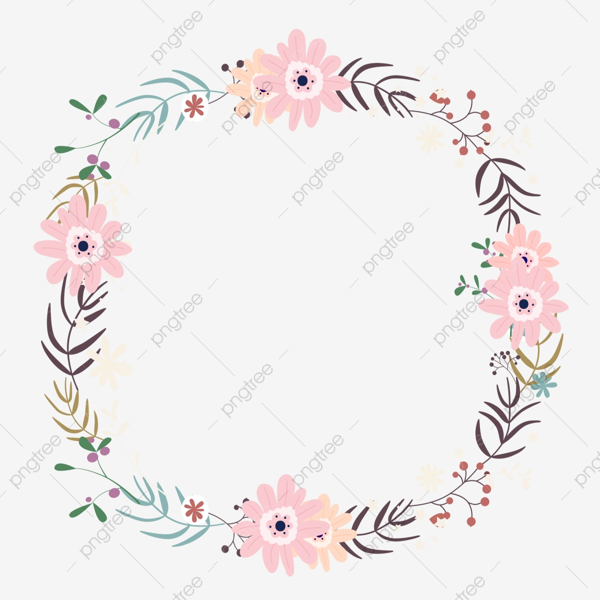 Free Holly Garland Clipart in AI, SVG, EPS or PSD