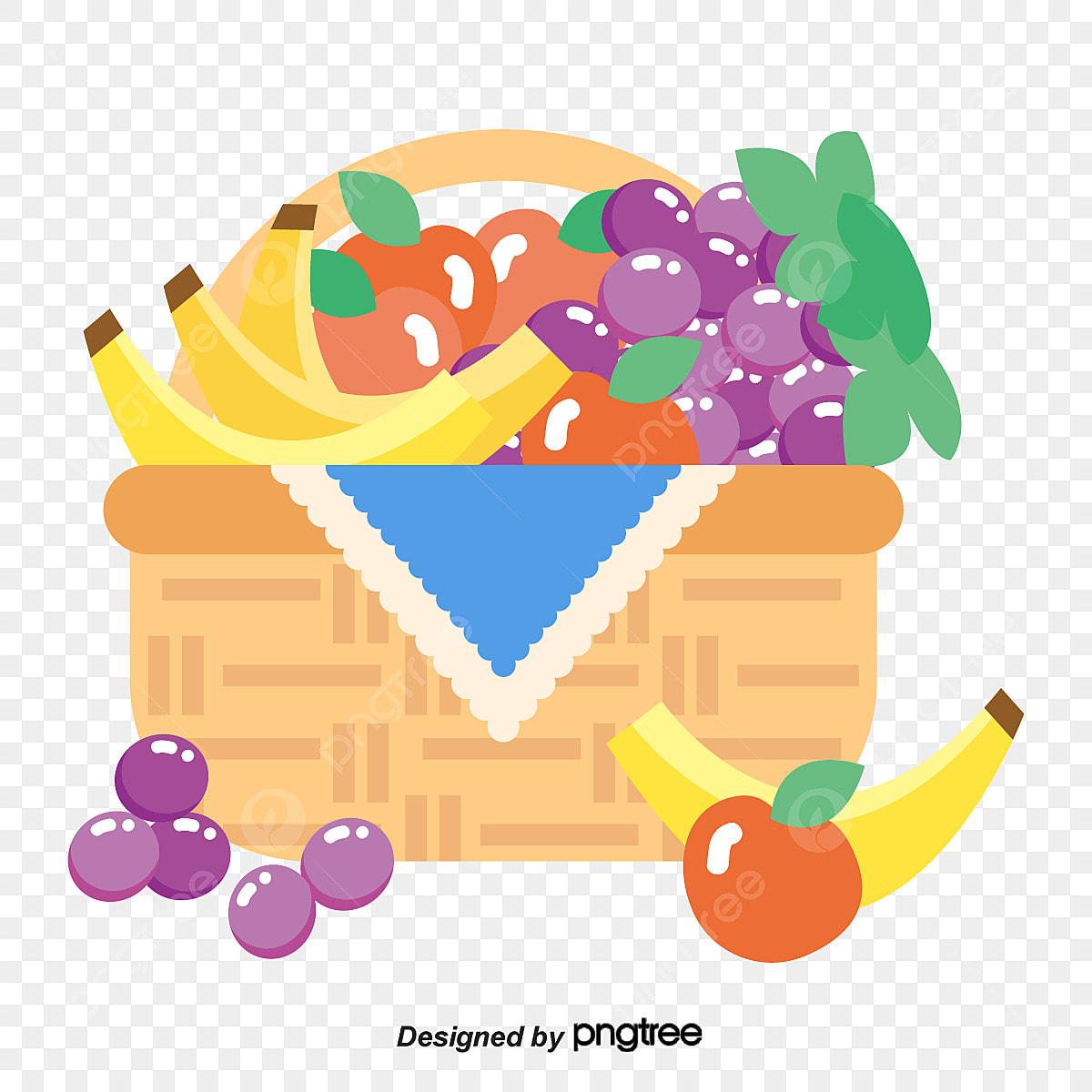 مكدسة في سلة الفواكه والخضروات الخضروات Clipart سلة خشبية طماطم Png والمتجهات للتحميل مجانا