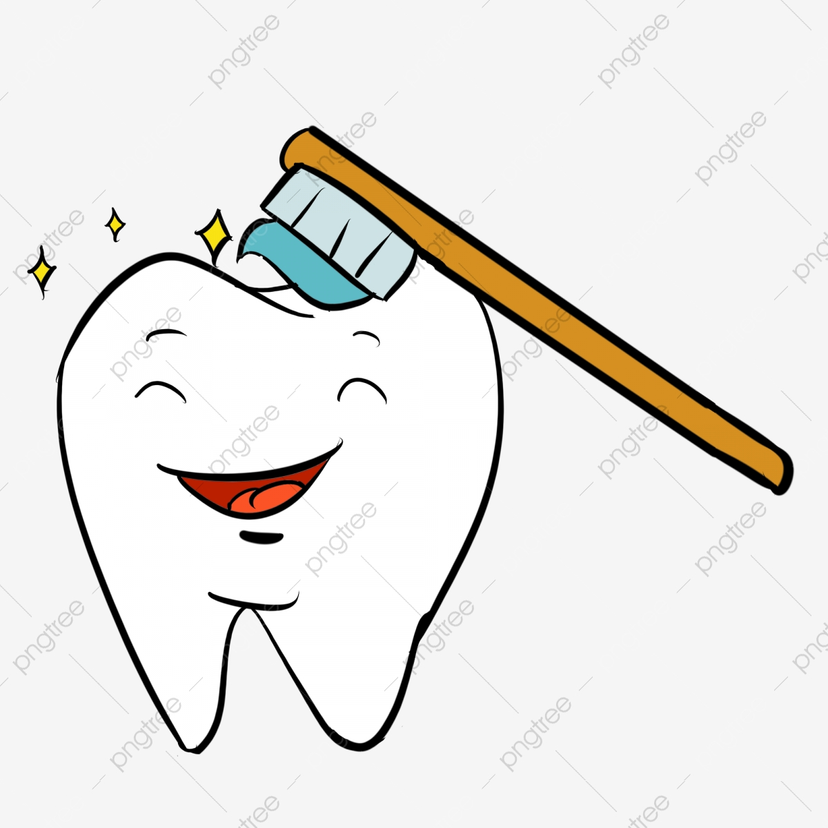 Desenho Dentes Cariados O Exame Da Cavidade Oral A Carie
