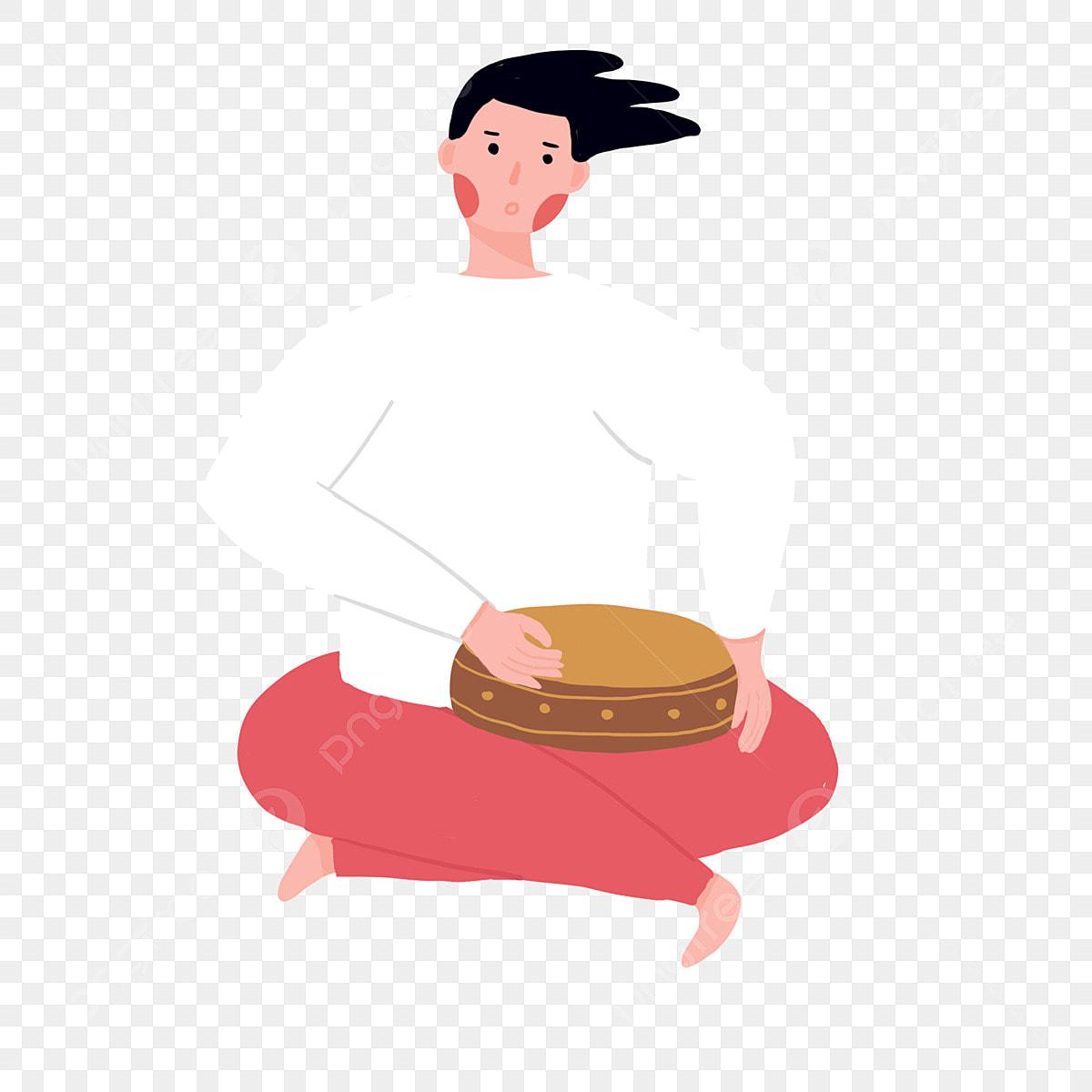 le gar u00e7on de jouer de la batterie tambour gar u00e7on joyeux