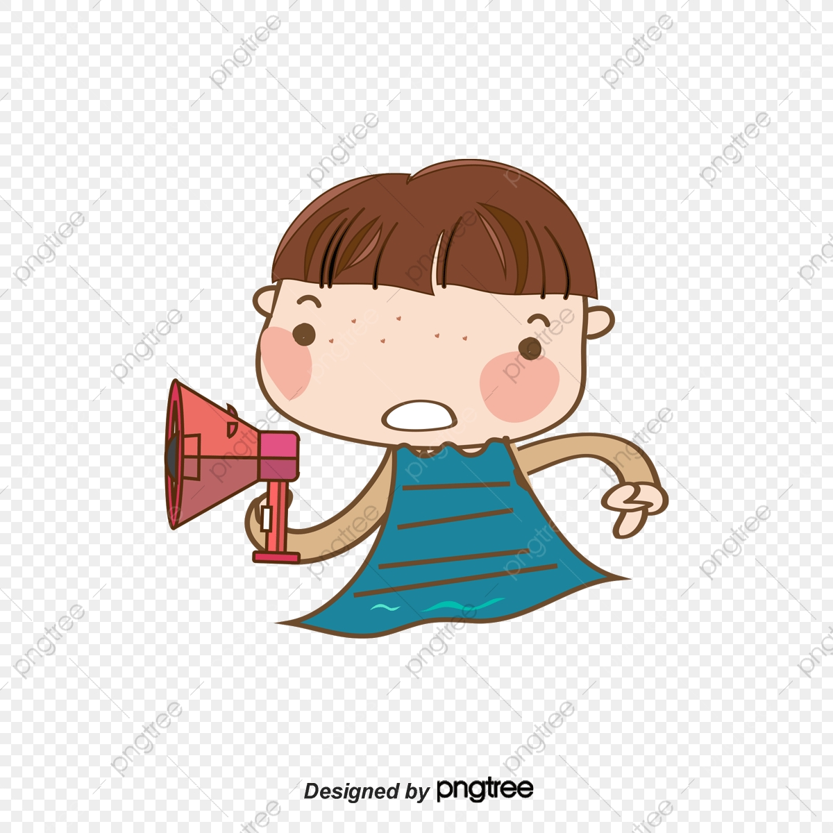 The Person Who Speaks Selling Speak Cartoon Girl Png Transparent Clipart Image And Psd File For Free Download