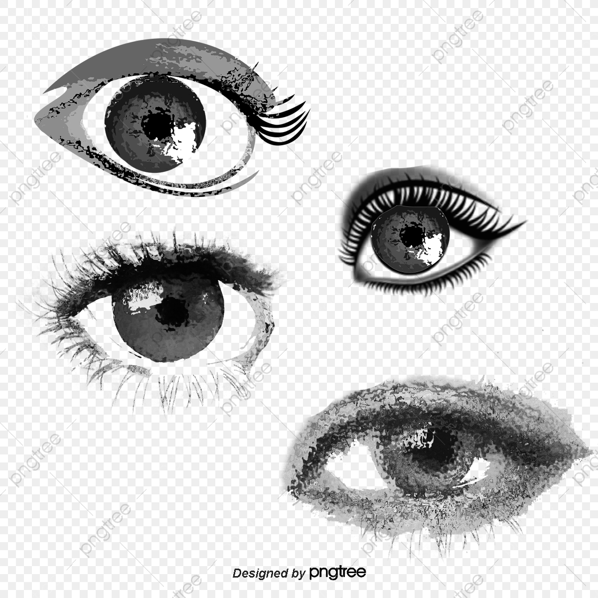 Beautiful Female Eyes Royalty Free Cliparts, Vectors, And Stock  Illustration. Image 38633432.