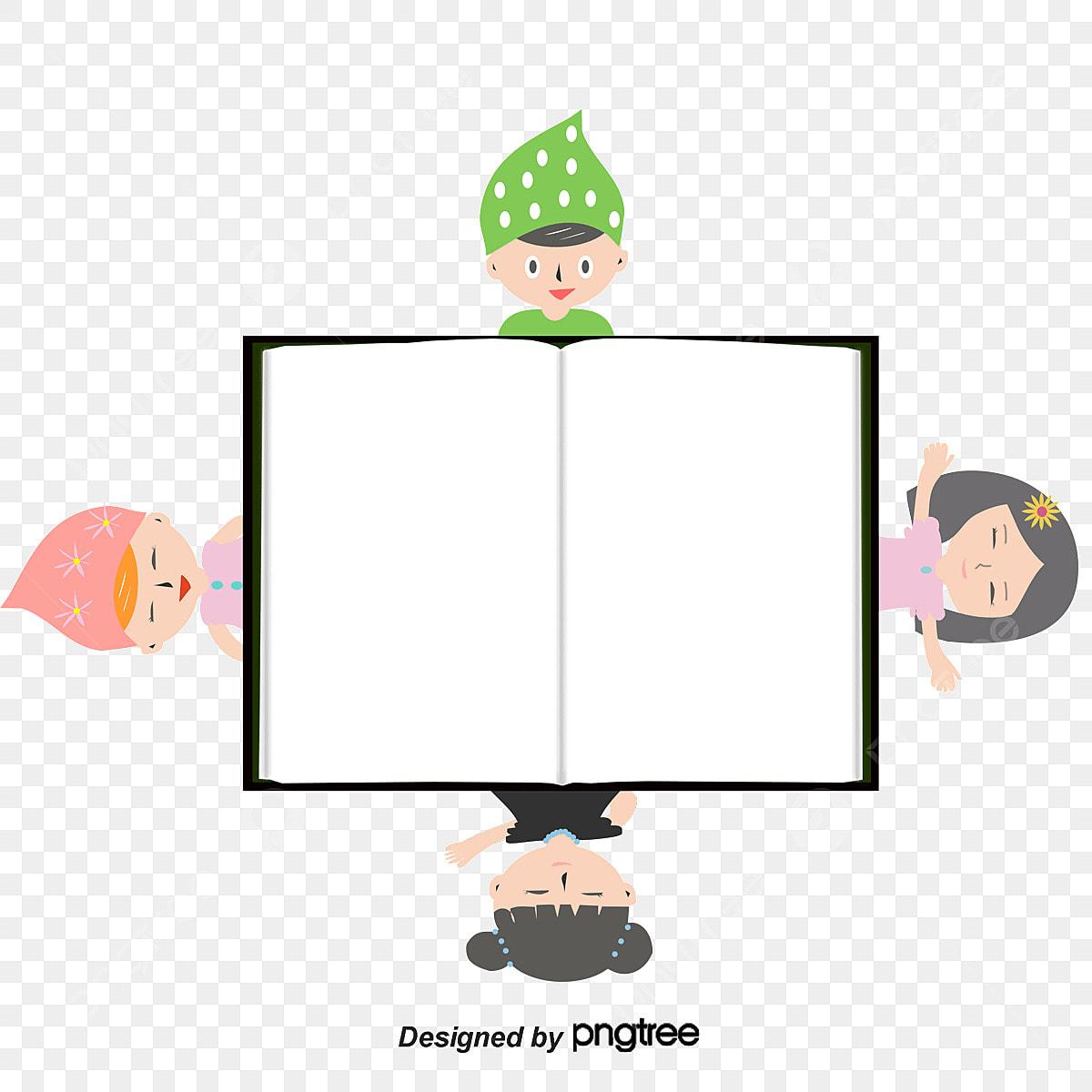 ناقلات كتاب فارغ والاطفال كتاب قصاصات فنية فارغ Png وملف Psd للتحميل مجانا