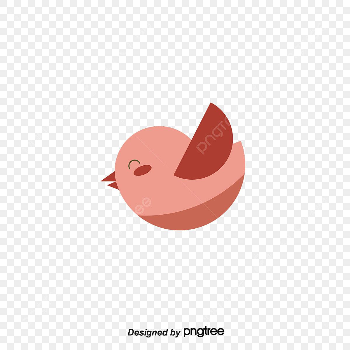 Vector Cartoon Cute Bird Cartoon Clipart Cute Clipart