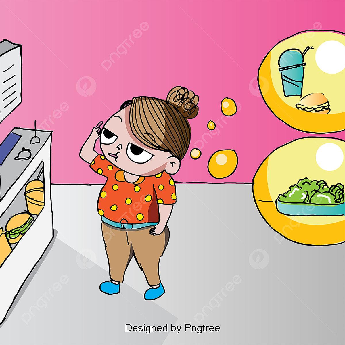 Vektor Kartun Cepat Makanan Gambar Kartun Makanan Cepat Saji