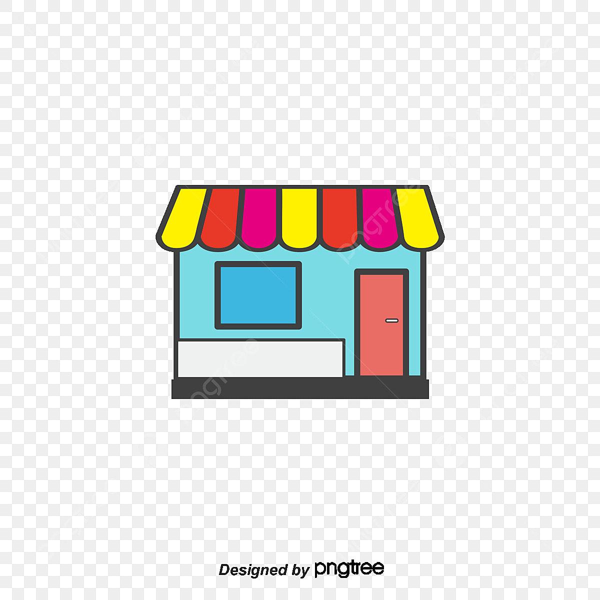le magasin le magasin de dessin vectoriel vecteur dessin