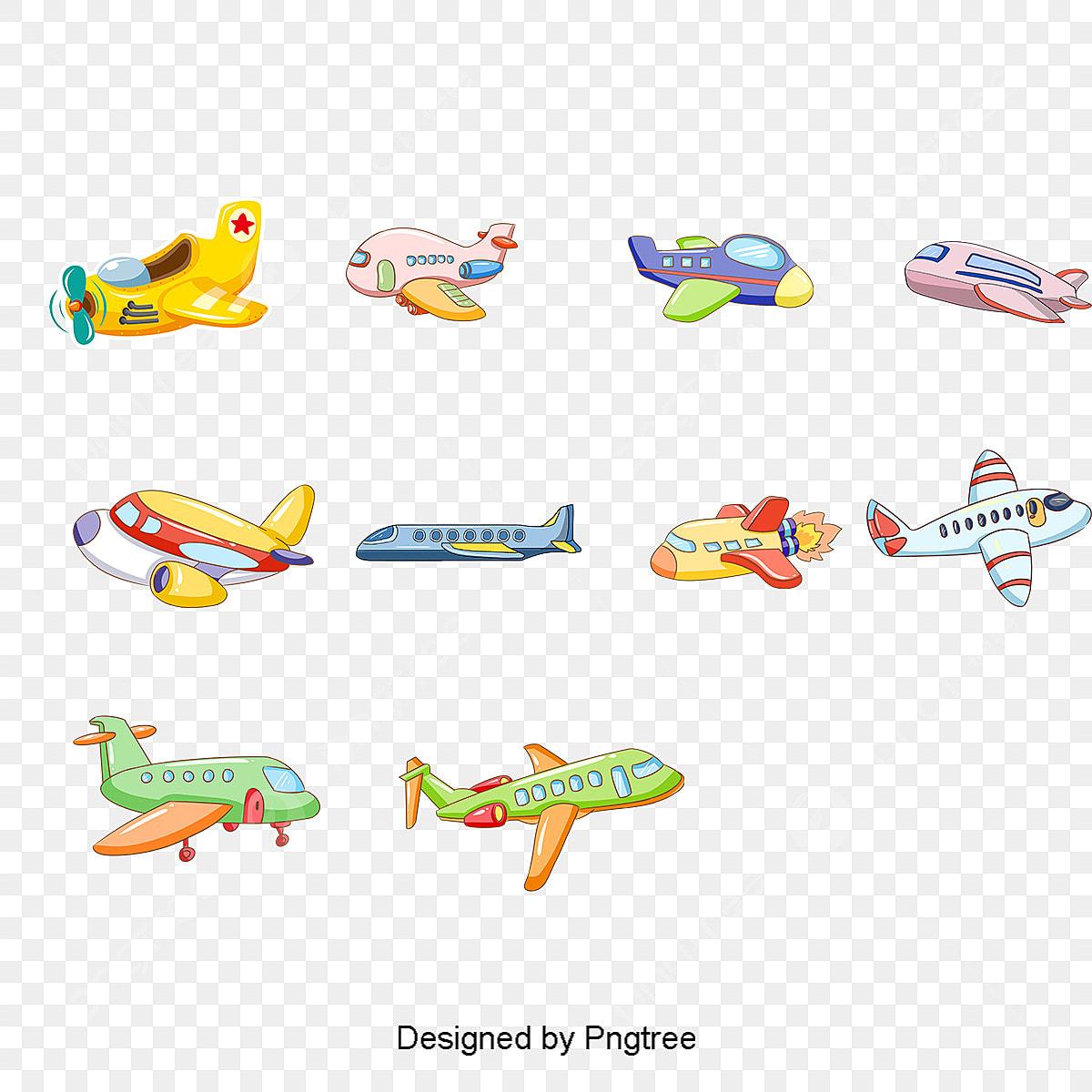 Grafico De Vetor De Desenhos Animados Aviao De Brinquedo Desenho