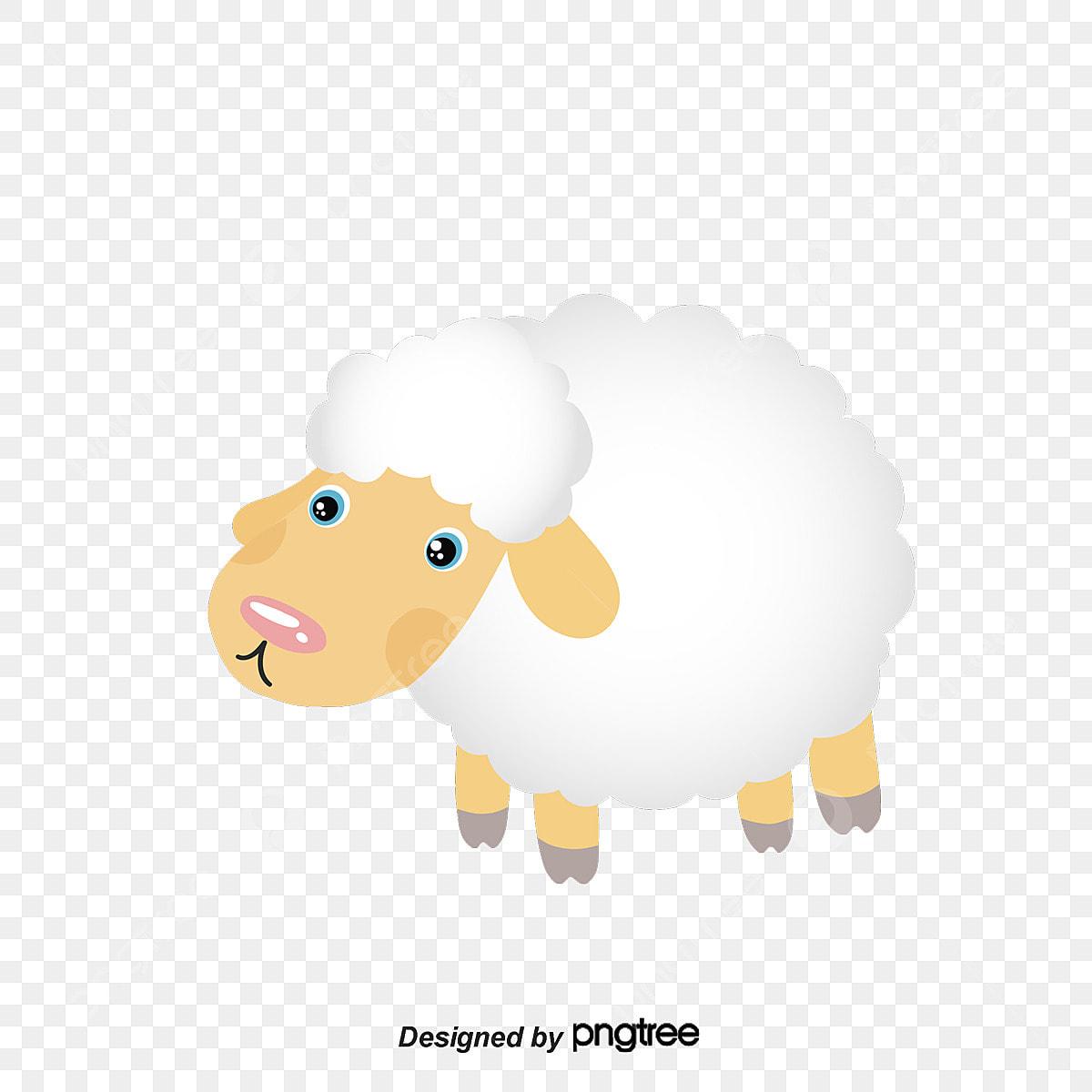 le vecteur de pince de mouton maternelle d u00e9coration animal