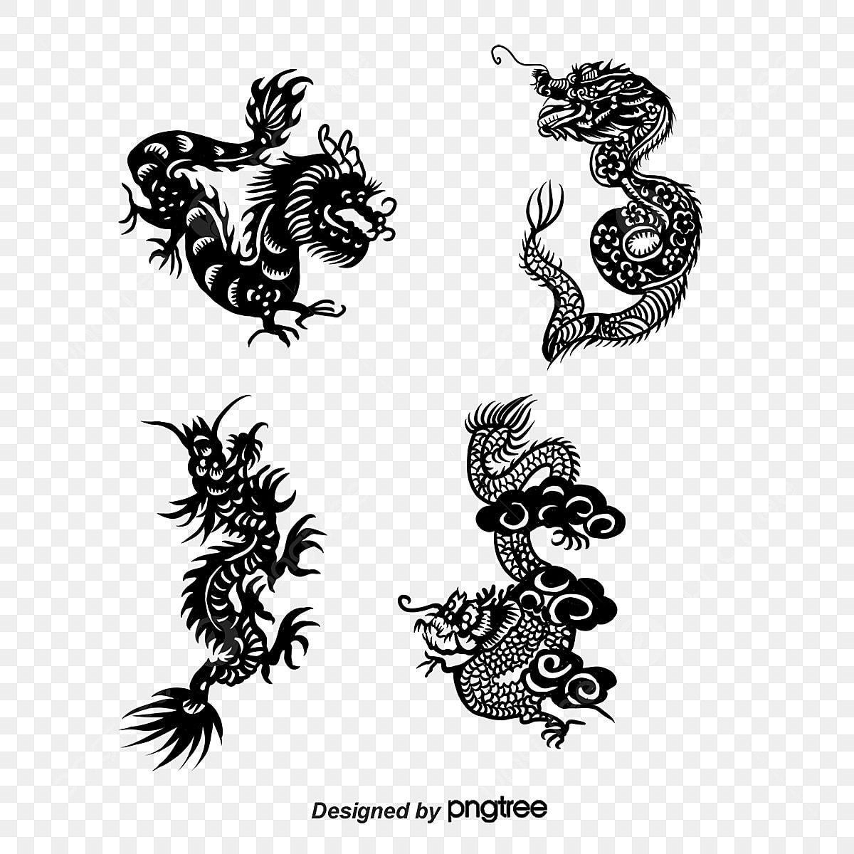 Cabezas De Dragones Para Tatuar vector dragon, tattoo, dragon, creative png y vector para
