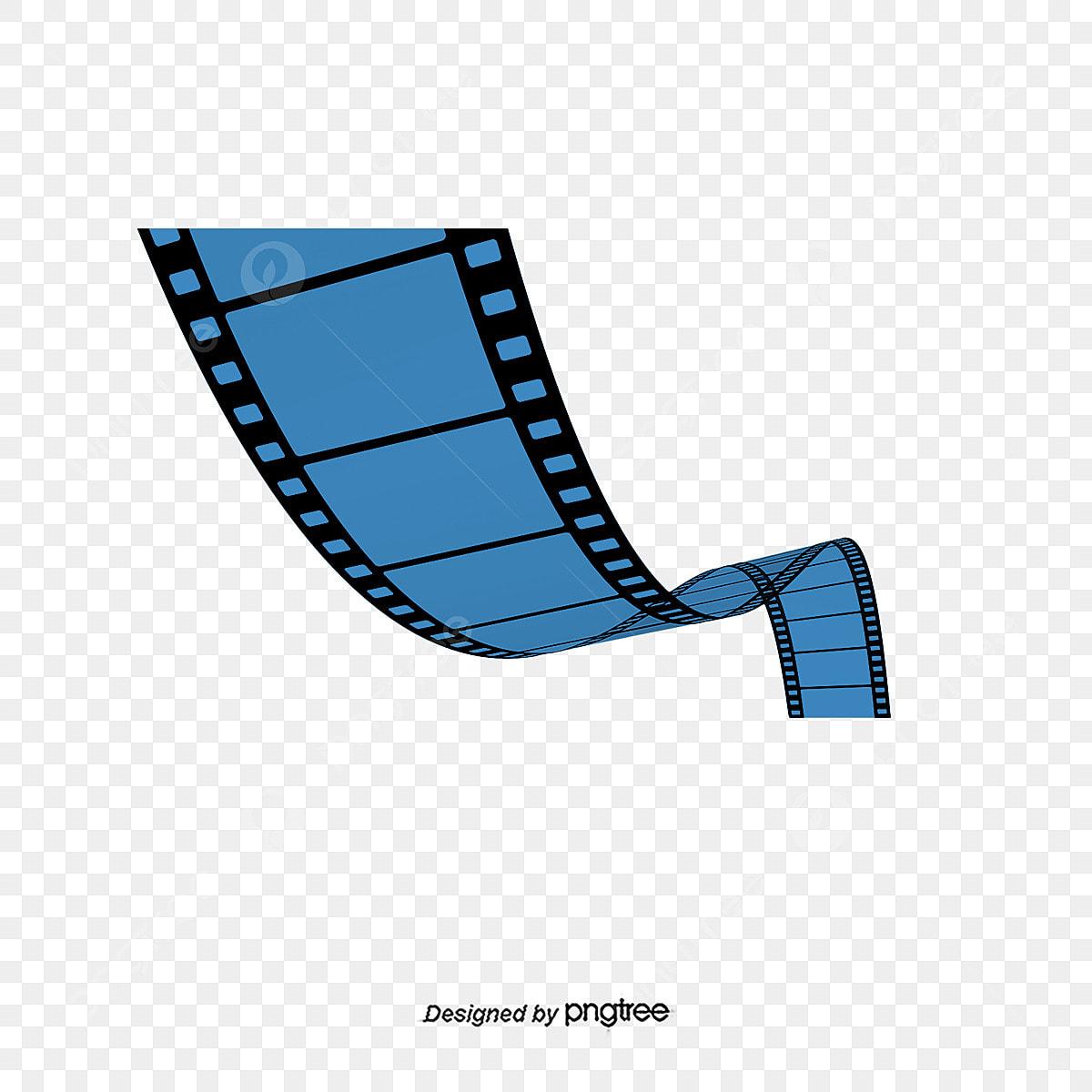 Vector De Fita De Cinema Pintados A Mao Vector O Filme Pintados