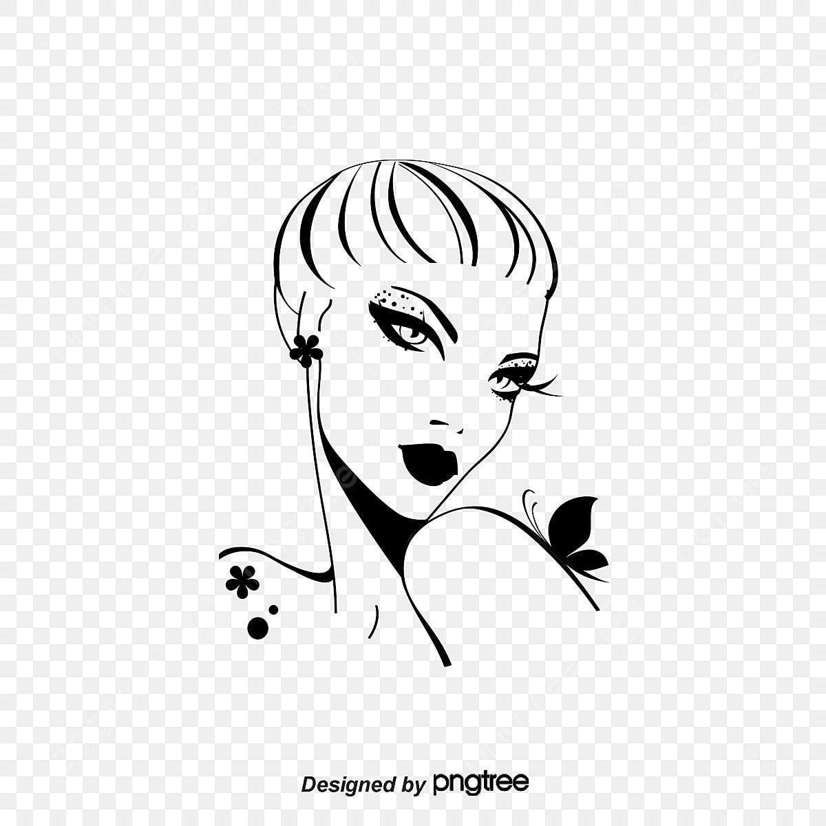 Vetor Desenho Mulheres Foto Grafico De Vetor Pintados A Mao