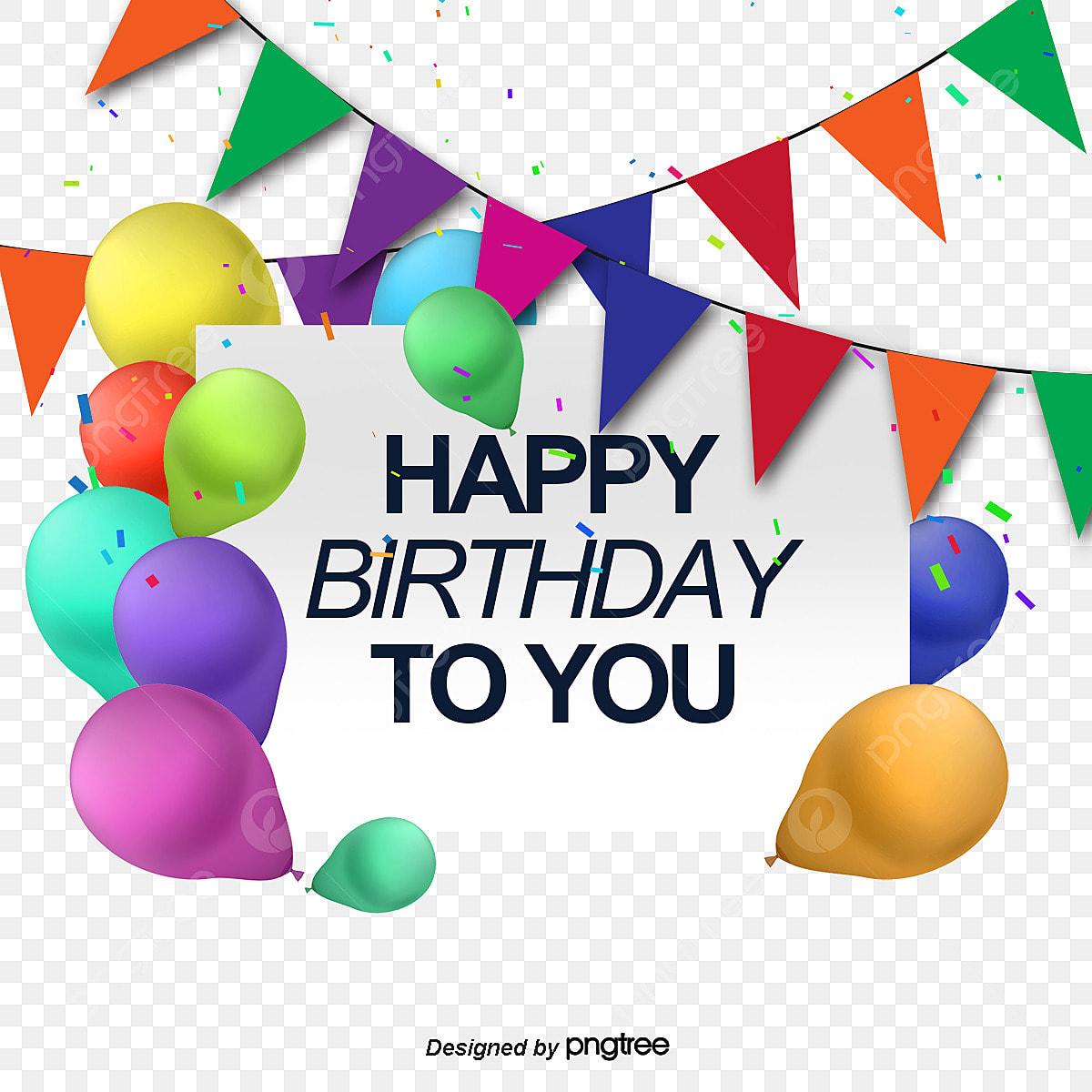 Vector Happy Birthday Greeting Card, Birthday Vector, Card Vector