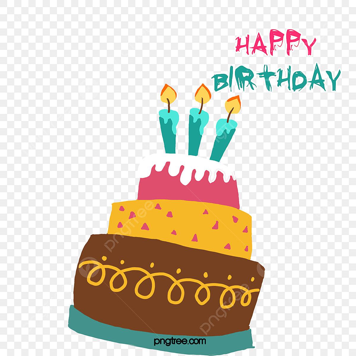 ベクタ誕生日ケーキイラスト 誕生日ケーキ お誕生日おめでとうございます