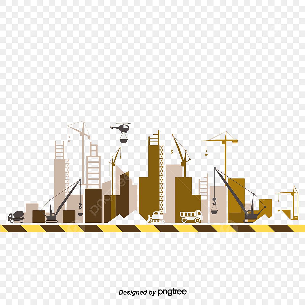 工事現場ベクトルイラスト ベクトル図 工事 工事画像素材の無料