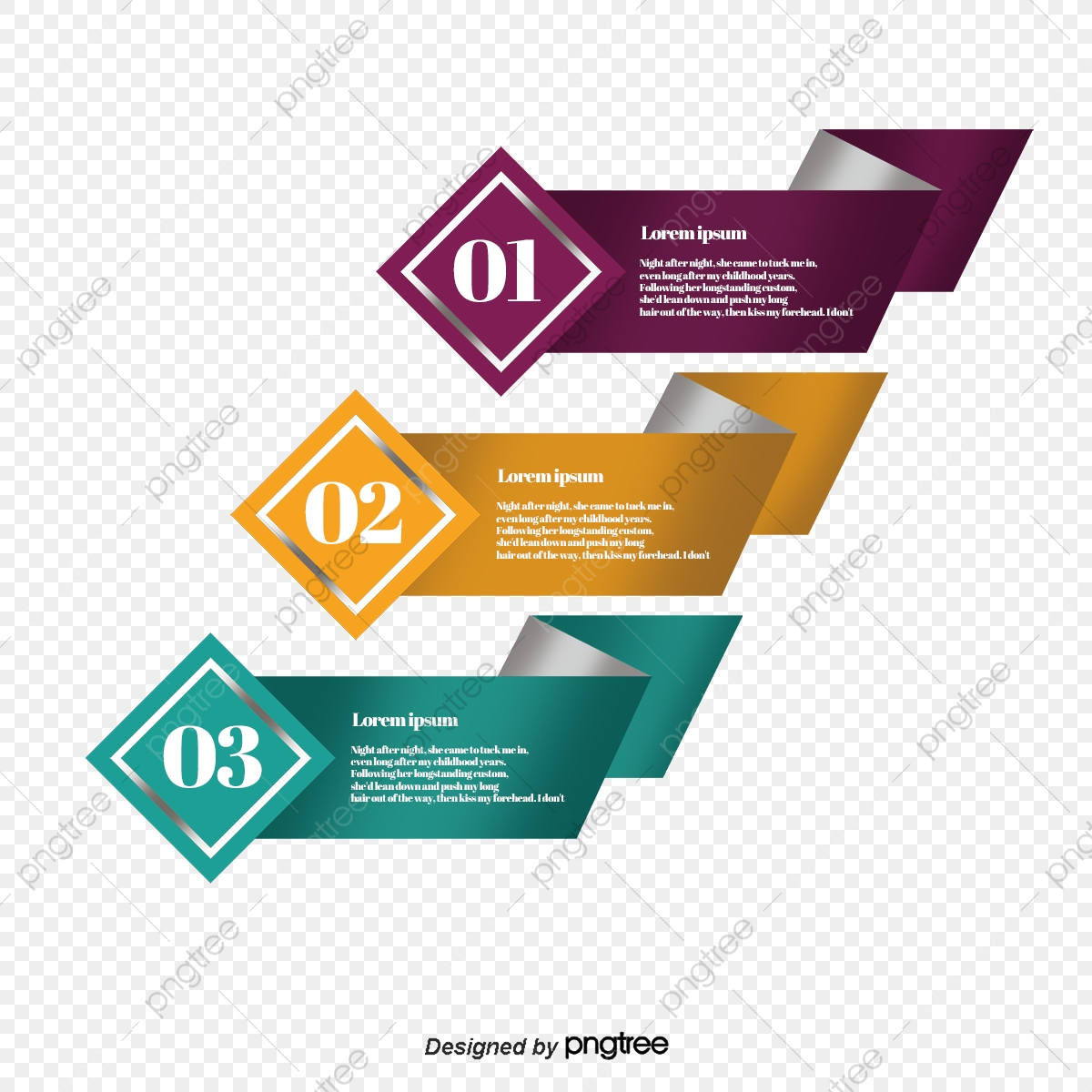 Vector Infographic, Infographic, Ppt Material, Table Of