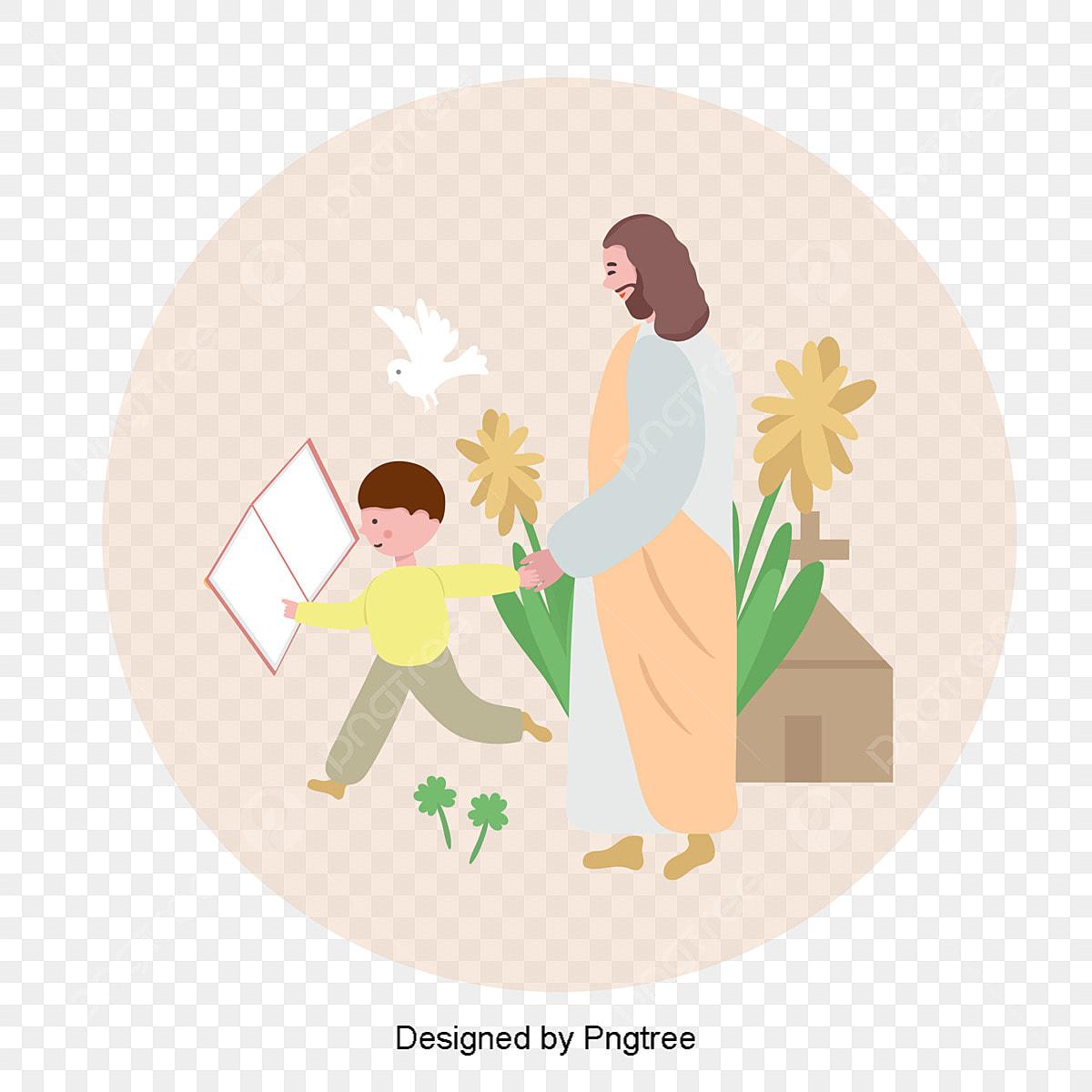 vektor kebangkitan yesus dengan anak anak makanan kebangkitan makanan vektor yesus png dan vektor untuk muat turun percuma kebangkitan makanan vektor yesus png