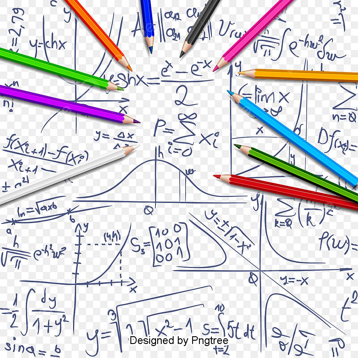 Vector Math Background Math Clipart Background Clipart