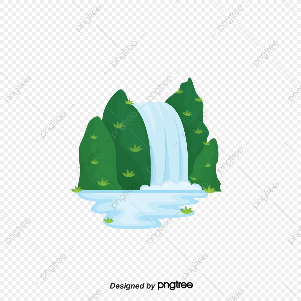vector mountain river waterfall mountain mountain vector river vector vector png transparent clipart image and psd file for free download https pngtree com freepng vector mountain river waterfall mountain 2959100 html