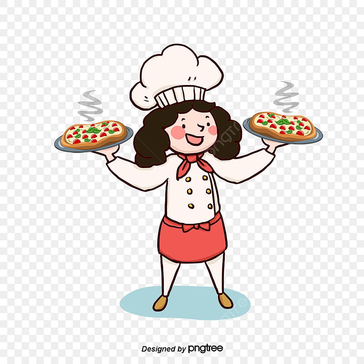 Vetor Desenho Cozinheiro Vector Pintados A Mao O Cozinheiro Png