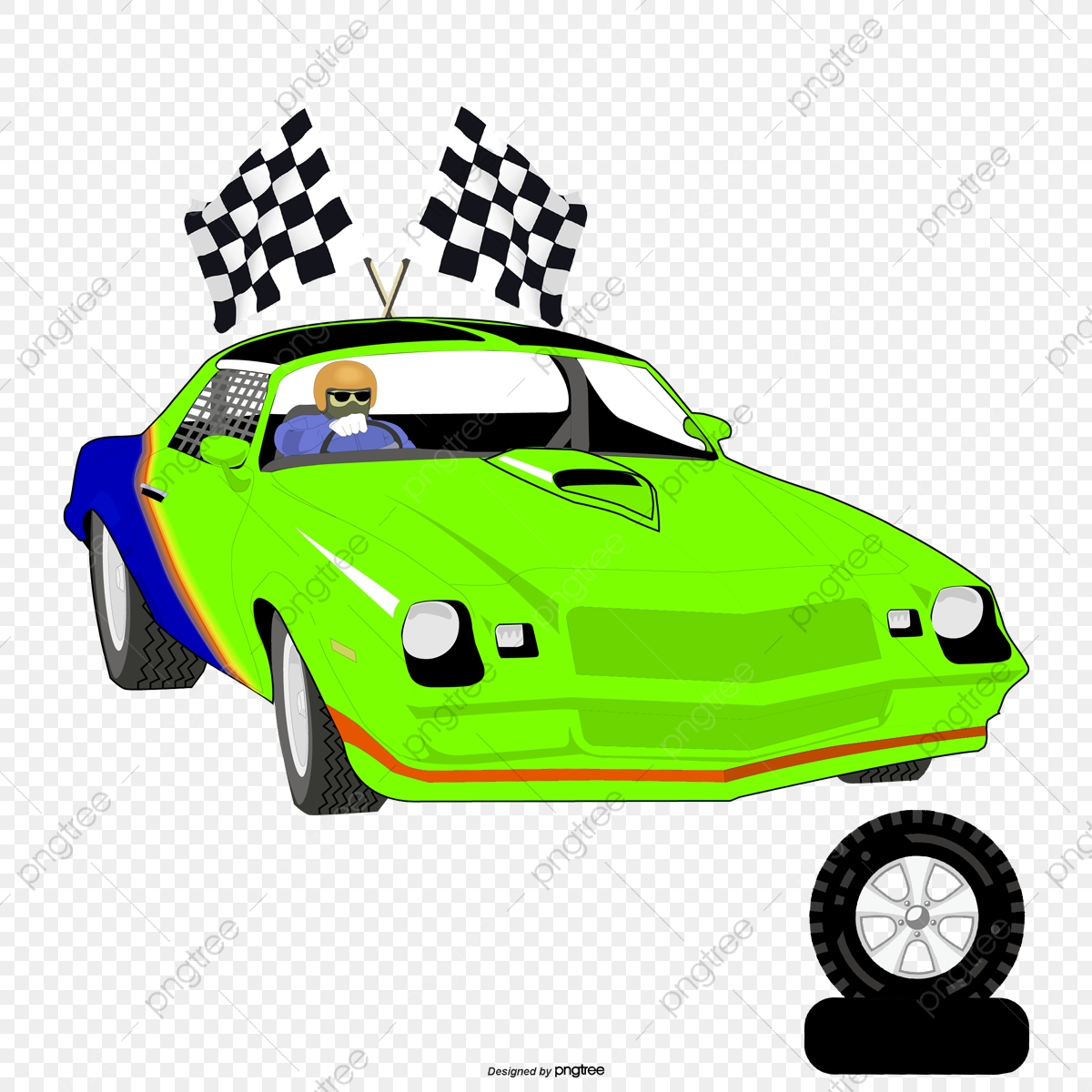 Vector Red Racing Flag, Racing Vector, Flag Vector, Vector PNG and