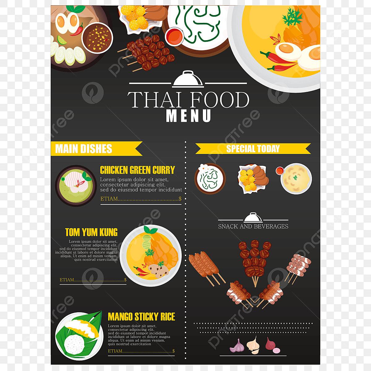 Vector Restaurant Menu Design Menu Clipart Hotel Recipes Hotels Menu Png Transparent Image And Clipart For Free Download