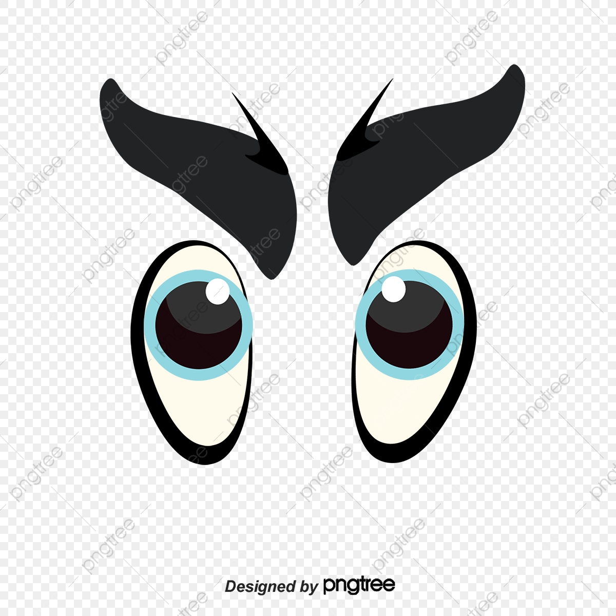 Sad Eyes Clip Art