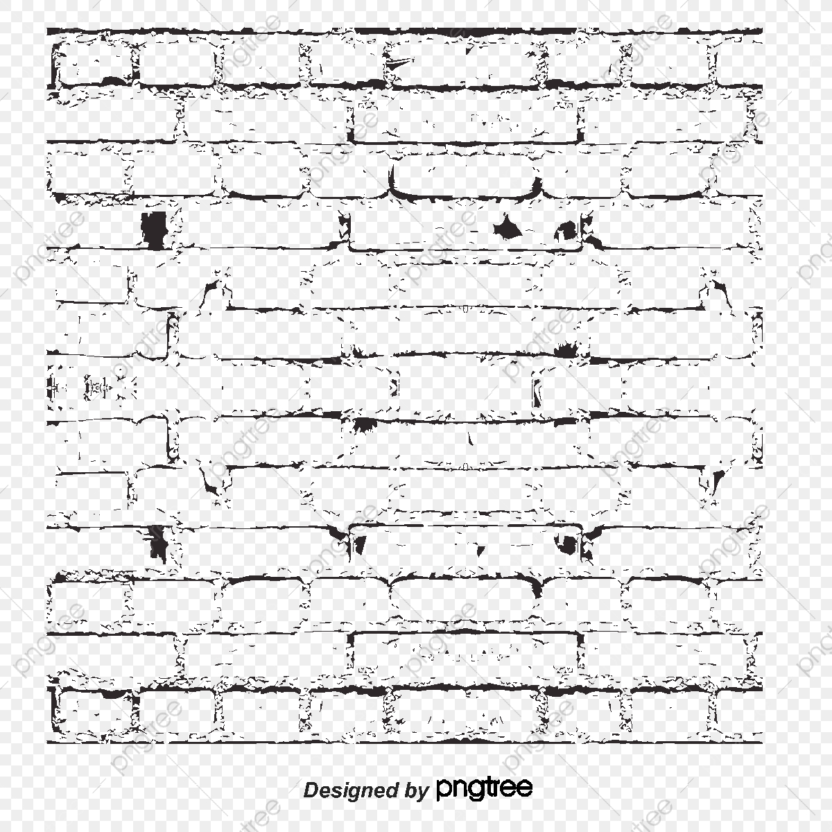 Vector Transparente Brick Wall Texture Vector Transparente Blanco
