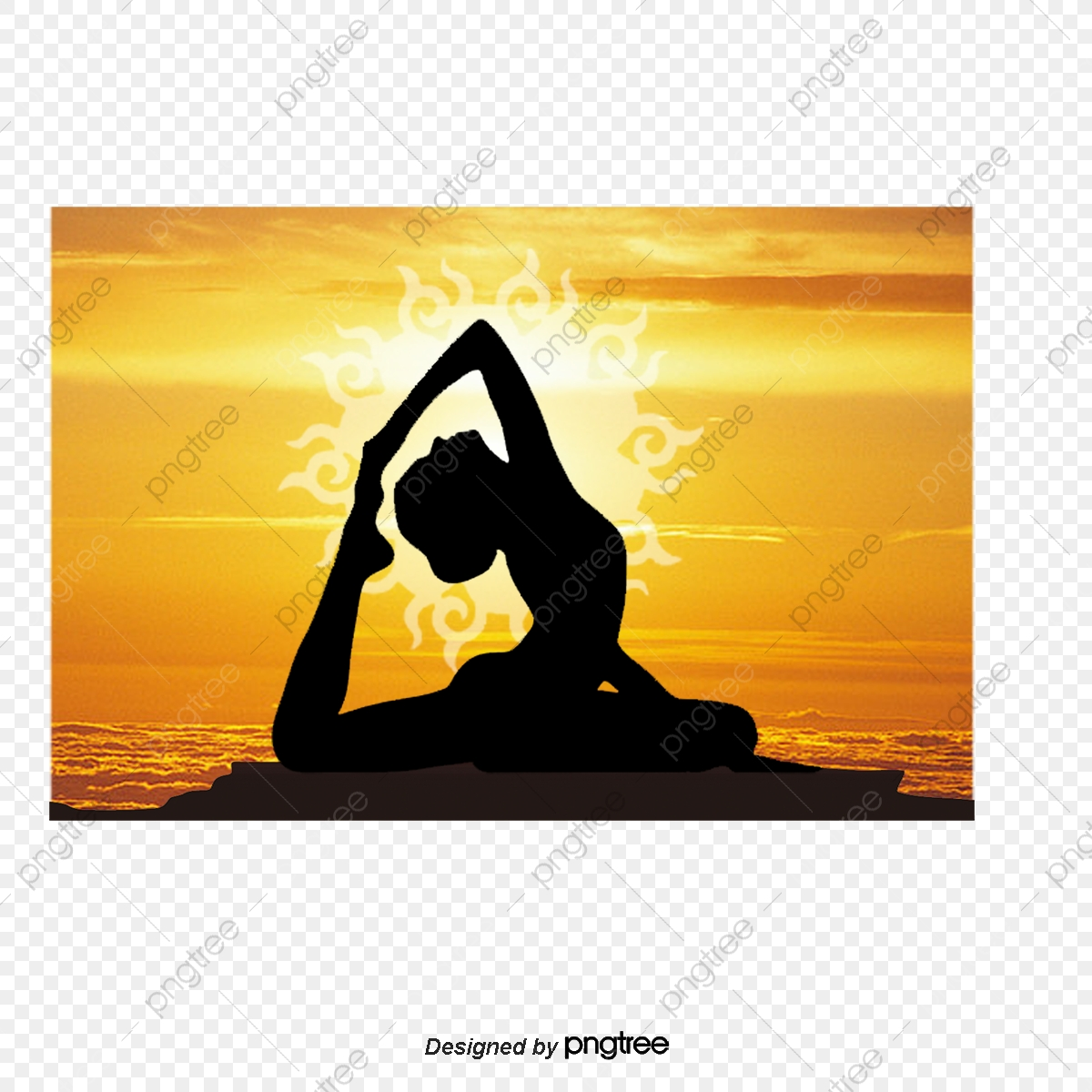 Vector Yoga Dance Movement Yoga Vector Png Transparent Clipart Image And Psd File For Free Download