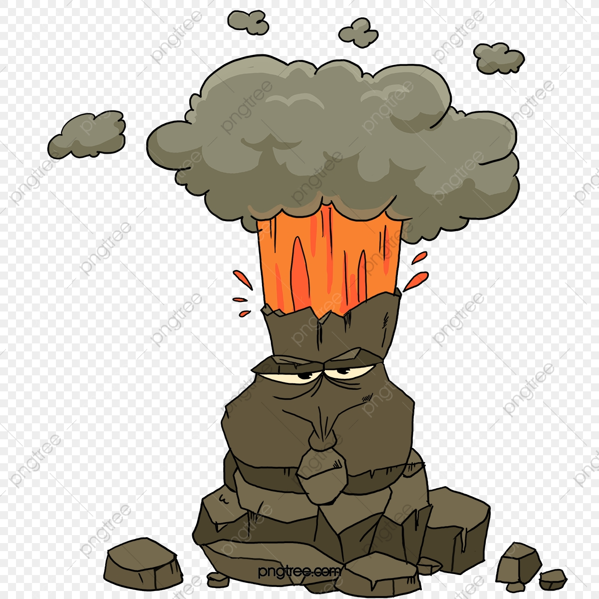 Volcano Picture Volcano Clipart Cartoon Injection Png