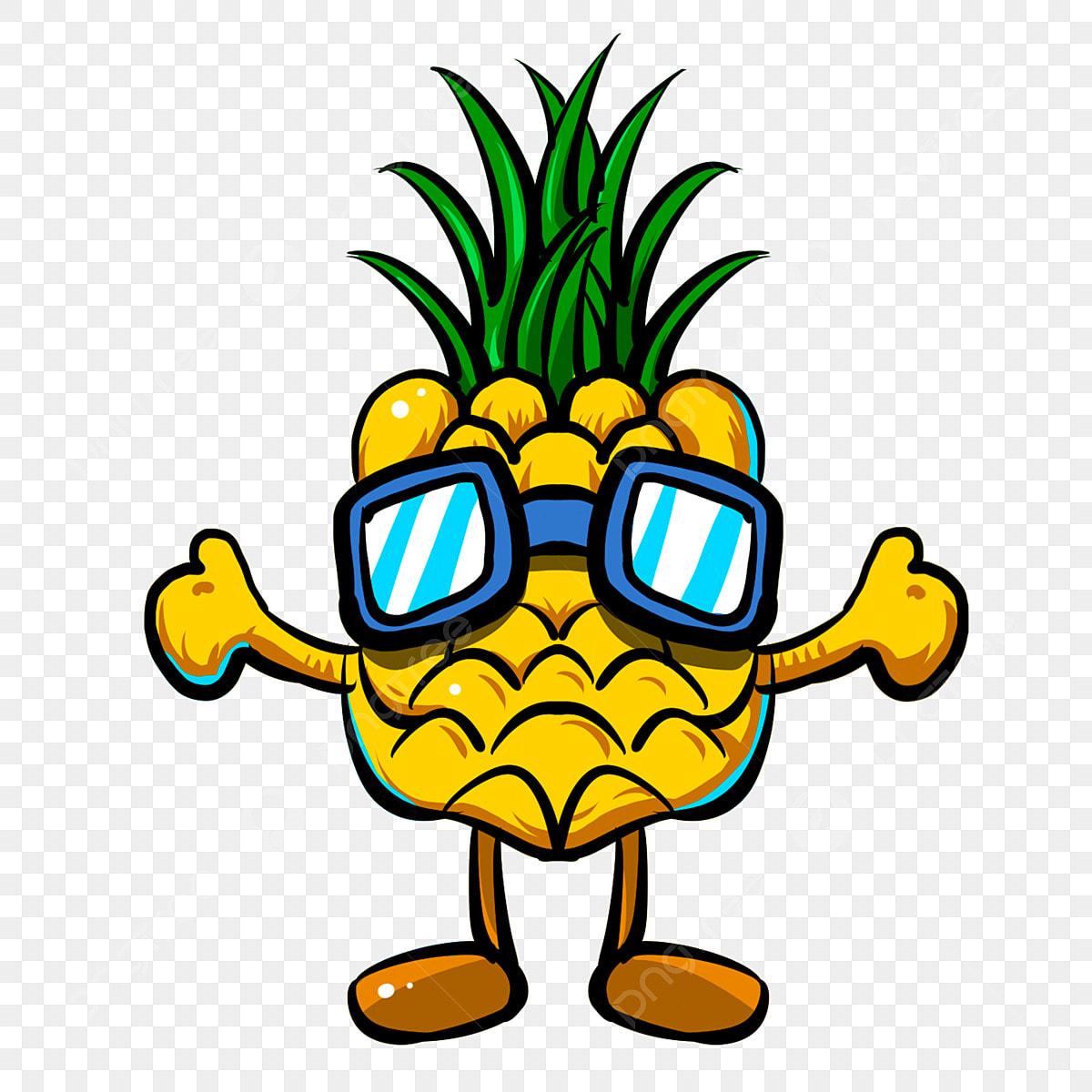 Png Piña Para Vector Uso El Gafas Sol De Amor Y mNn0w8
