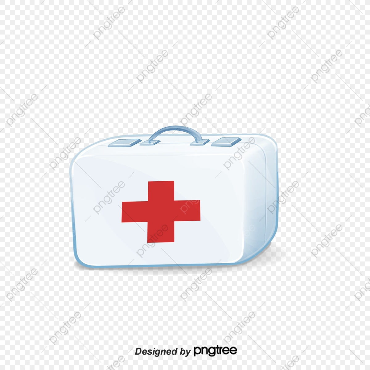 White Minimalist Medical Kits White Simple Medical Kits
